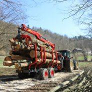 Prejemniki nepovratnih sredstev v okviru Programa razvoja podeželja za izboljšanje ponudbe gozdarskih storitev